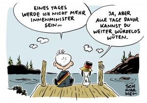 """""""Provozierend, rückwärtsgewandt und würdelos"""": Kulturschaffende fordern: """"Seehofer soll zurücktreten"""""""