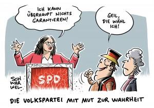 """Nahles zur GroKo vor Hessenwahl: """"Ich kann überhaupt nichts garantieren"""""""