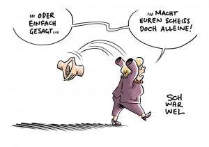 Letzte Amtszeit als Kanzlerin: Merkel gibt CDU-Parteivorsitz ab