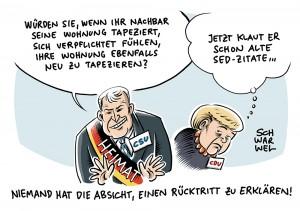 Nach Merkel-Entscheidung: Rücktrittsforderungen an Horst Seehofer