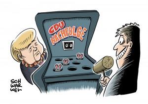 Merkel-Nachfolge: CDU-Vereinigungen suchen nach den für sie geeigneten Kandidaten