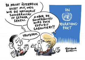 Vereinte Nationen: Österreich sagt Nein zum UN-Migrationspakt