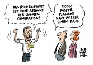 Neues Rentenpaket: FDP bezichtigt GroKo der Abzocke der jungen Generation
