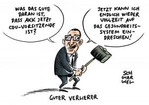 """Annegret Kramp-Karrenbauer gewinnt Wahl zur CDU-Vorsitzende Gesundheitsminister Jens Spahn: """"Ich kann mit dem Ergebnis gut leben"""""""