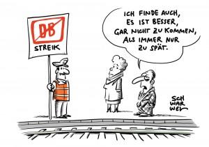 Deutsche Bahn Streik
