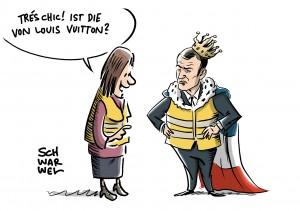 Gelbwesten in Frankreich: Emmanuel Macron und die Wütenden