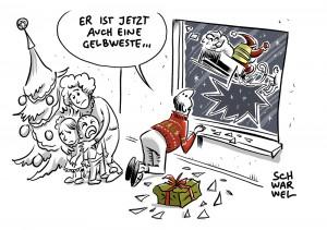 """Gelbwesten-Aufstand in Frankreich: Gelbwesten-Demo des """"Aufstehen""""-Bündnisses von Sahra Wagenknecht floppt in München"""