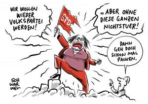"""Bedingungsloses Grundeinkommen: Andrea Nahles macht deutlich: SPD steht """"nicht für bezahltes Nichtstun"""""""