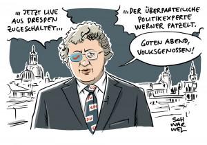 Dresdner Politikexperte Werner Patzelt: Politologe nahm Auftrag von AfD an, berät jetzt CDU