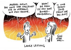 """Merkel über die ostdeutsche Wut: """"Das Land war vielleicht nie so versöhnt, wie man dachte"""""""