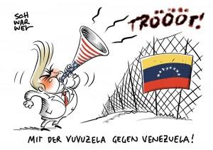 Venezuela: Mehrere Tote bei Maduros Blockade gegen Hilfsgüter