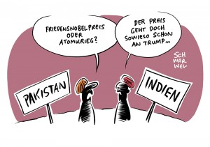 Indien und Pakistan: Zwei Atommächte auf Konfrontationskurs