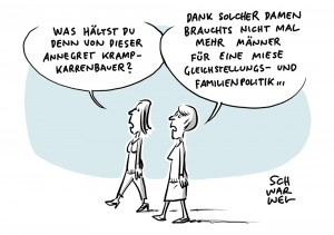 AKK und Gleichstellung: CDU-Chefin bangt bei gleichgeschlechtlichen Eltern um Kindeswohl