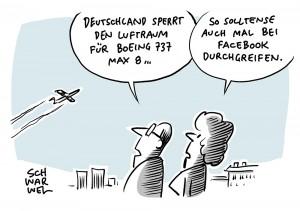 Nach zweitem Absturz in Folge: Deutschland sperrt Luftraum für Boeing 737 Max 8