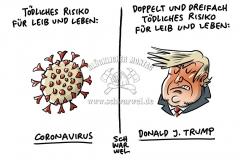 Gesundheitsrisiko Trump und Folgen des US-Zahlungsstopps an WHO: US-Präsident gefährdet wichtige Projekte im Kampf gegen Corona