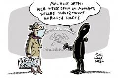 """""""Kein gutes Signal"""": Sinn und Unsinn von Schutzmasken gegen das Coronavirus"""