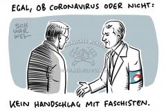 Thüringen MPWahl Ramelow Höcke Kein Handschlag