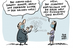 """Corona-Folgen in Afrika: Entwicklungsminister Müller warnt vor """"Hunger-Pandemie"""""""