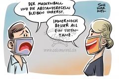 Corona-Epidemie in Deutschland: Individuelle Vorsichtsmaßnahmen sollen nach Willen der Bundesregierung weiterhin gelten