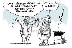 Thüringen kippt Corona-Kontaktbeschränkungen: Landesregierung setzt auf Eigenverantwortung der Bürger