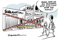 Corona-Ausbruch in Tönnies-Schlachtbetrieb: Kreis Güterloh schließt Schulen und Kitas