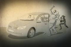 schwarwel illustration illustrationen glücklicher montag