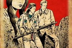 Schwarwel Glücklicher Montag Illustration Winnetou Old Shetterhand