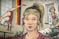 Schwarwel Glücklicher Montag Illustration MDR Zeitreise DDR