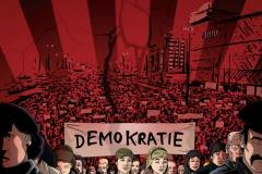 Schwarwel Glücklicher Montag Illustration Demokratie FIlm 1989 Unsere Heimat