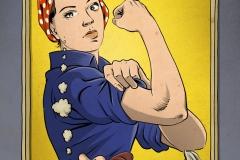 Schwarwel Glücklicher Montag Illustration Gleichberechtigung Feminismus Frauenquote