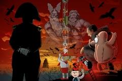 Schwarwel Glücklicher Montag Illustration Filme Trickfilme