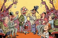 Schwarwel Illustration Sächsische Landeszentrale politische Bildung