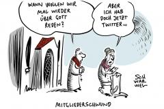Mitgliederkrise in Deutschland: Mehr Menschen aus der Kirche ausgetreten