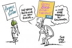 """FDP-Parteitag: Lindner wirft """"Fridays for Future"""" überzogene Moral vor"""