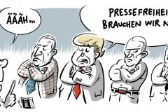 karikatur cartoon schwarwel glücklicher montag