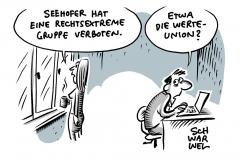 """Rechtsextremistische """"Wolfsbrigade 44"""": Seehofer verbietet erneut Neonazi-Gruppe"""