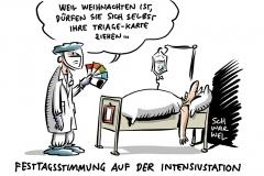 Corona-Lage in Sachsen: Triage-Aussage sorgt für Aufsehen
