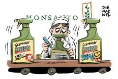 Glyphosat: Monsanto finanzierte auch in Deutschland verdeckt Studien