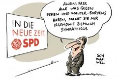 SPD-Parteitag in Berlin: Esken und Walter-Borjans sind neue SPD-Vorsitzende