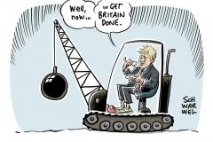 Großbritannien und die EU: Nach der Wahl ist vor dem Brexit