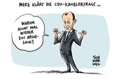 """Kandidat """"anständig"""" finden:  Merz lehnt CDU-Mitgliederentscheid ab"""