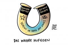 """Anheizer des Hasses: Ex-Geheimdienstchef Maaßen und rechtskonservative """"Werteunion"""" probierten in Erfurt ihre Macht aus"""