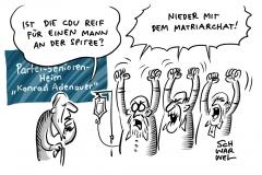 AKK gibt auf:  CDU-Männerriege bringt sich in Stellung