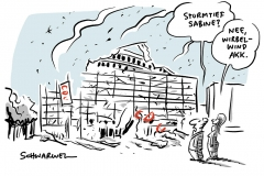 """Unwetter: Sturmtief """"Sabine"""" zieht über Deutschland"""