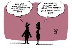 Maaßen twittert Relativierungstweet: Maaßen selbst sieht darin keine Reaktion auf Hanau