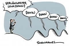 Lockdown in Deutschland:  Verlängerung ja, aber wie lange?