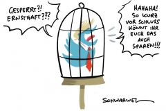 Der Social-Media-Präsident und Kapitol-Chaos: Twitter und Facebook sperren Donald Trumps Konten