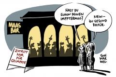 Außenminister gegen Haltung der Bundesregierung: Maas will Lockerungen für Geimpfte