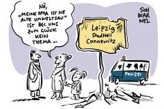 Kritik nach Ausschreitungen und Polizeigewalt in Leipzig-Connewitz:  Linksextreme als Täter vermutet