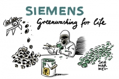 "Kohleabbau in Australien: Fridays For Future-Aktivisten: ""Siemens betreibt ""reines Greenwashing"""